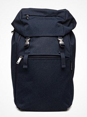 Marimekko marinblå ryggsäck Kortteli Backpack Backpack