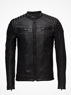 Skinnjackor - Superdry New Hero Leather Racer