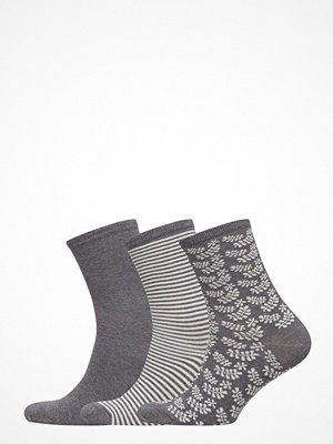Strumpor - Vogue Ladies Anklesock, Confetti Socks, 3-Pack