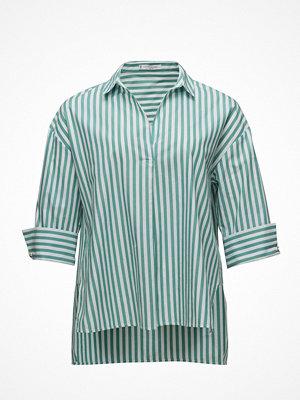 Violeta by Mango Striped Cotton Blouse