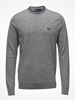 Tröjor & cardigans - Fred Perry Merino C/N Sweater