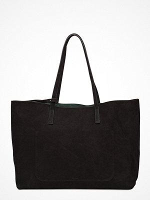 Filippa K svart shopper Faye Tote Leather Bag