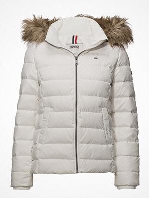 Dunjackor - Tommy Jeans Tjw Essential Hooded Down Jacket