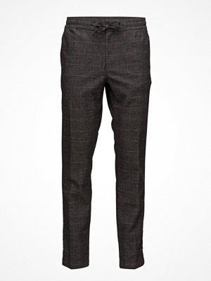 Byxor - Tommy Hilfiger Active Pant Wool Mix Check