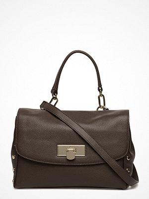 DKNY Bags omönstrad axelväska Medium Flap Shoulder