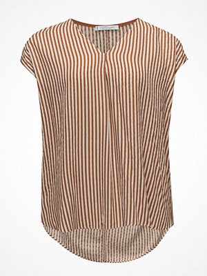 Violeta by Mango Textured Stripe-Patterned Blouse