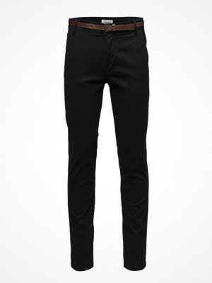 Byxor - Lindbergh Classic Stretch Chino W.Belt