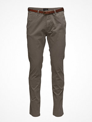 Byxor - Scotch & Soda Slim Fit Cotton/Elastan Garment Dyed Chino Pant