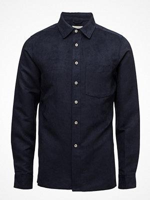 Skjortor - Knowledge Cotton Apparel Suede Shirt - Grs