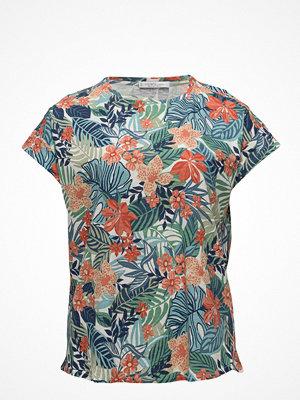 Violeta by Mango Tropical Print T-Shirt