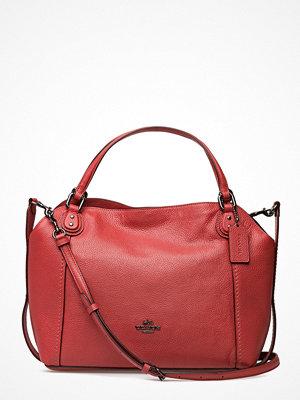 Coach shopper Polished Pebble Lthr Edie 28 Shoulder Bag