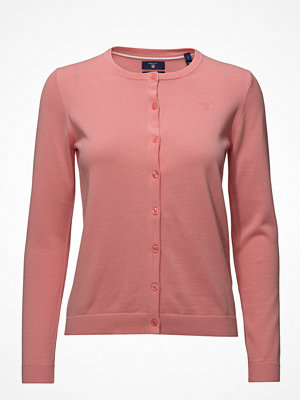 Gant Lt Wt Cotton Crew Cardigan