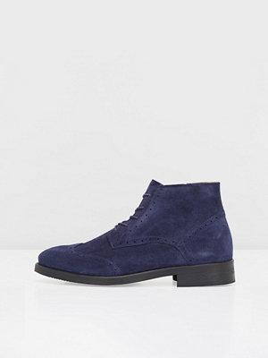 Boots & kängor - Bianco Brogue Skor