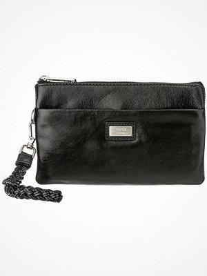 Adax svart kuvertväska Salerno Diana clutch