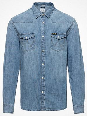 Skjortor - Wrangler Jeansskjorta