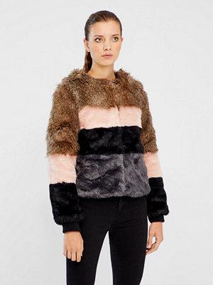 Fuskpälsjackor - Vero Moda Dona jacka