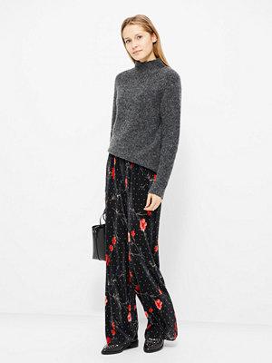 Vero Moda Fleur byxor svarta med tryck