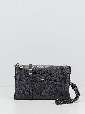 Adax svart kuvertväska Cormorano plånbok 20x12x3 cm