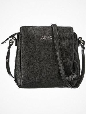 Adax Cormorano axelväska 18x18x7 cm. svart