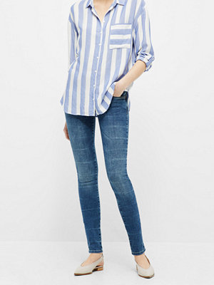 Jeans - PULZ Anett Midtwaist jeans