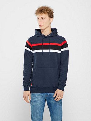 Le-Fix Panel hood sweatshirt