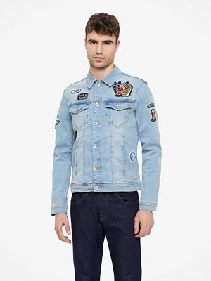 Jeansjackor - RVLT/ Revolution Light 7540 denim jeansjacka