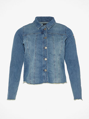 Jeansjackor - Zizzi Gary jeansjacka