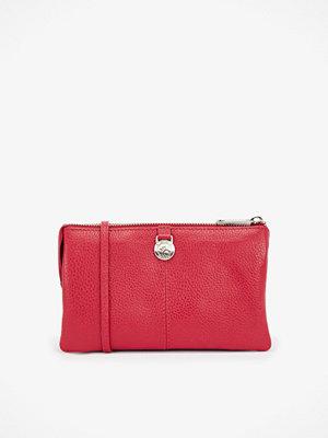 Adax röd kuvertväska Cormorano plånbok 20x12x3 cm