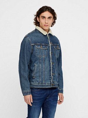 Jeansjackor - Lee Sherpa Rider Vintage jeansjacka