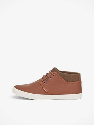 Jack & Jones Vince PU Cognac sneakers