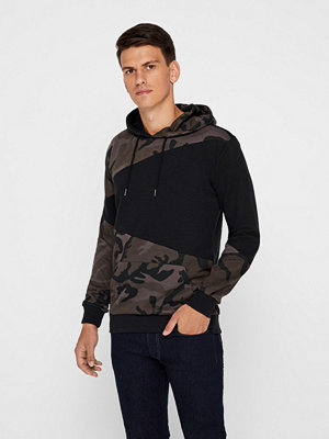 Street & luvtröjor - Urban Classics Camo sweatshirt
