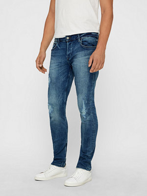 Jeans - Only & Sons Loom Blue Washed jeans