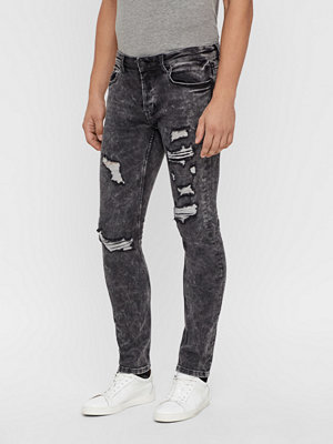 Jeans - Only & Sons Loom Black jeans