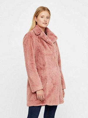 Fuskpälsjackor - Vila Softa Faux Fur jacka