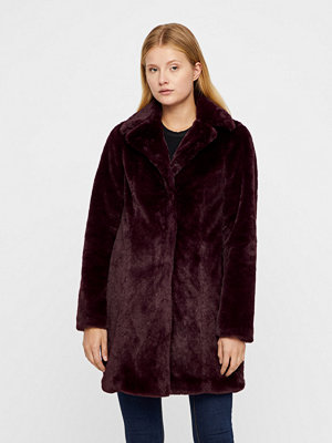 Vila Softa Faux Fur jacka