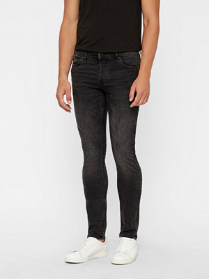 Jeans - Only & Sons Loom Black Washed jeans