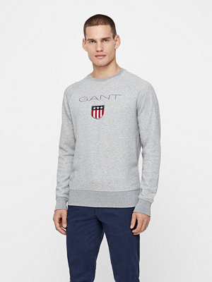 Tröjor & cardigans - Gant Shield C-Neck sweatshirt