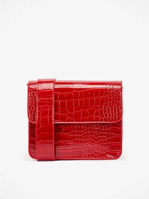 hvisk axelväska Cayman Shiny handväska