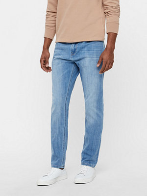 Jeans - Solid Lowcrotch-Frank Blue jeans