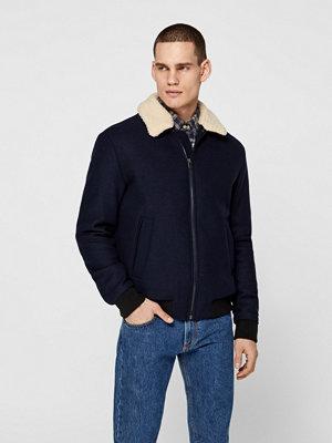 Selected Wool jacka