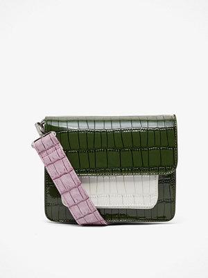 hvisk axelväska Cayman Pocket väska 17x21x5