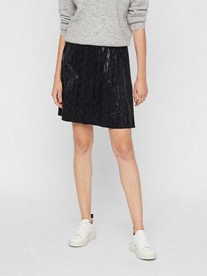 Only Faux Sued kjol