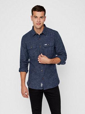 Skjortor - Superdry Indigo skjorta