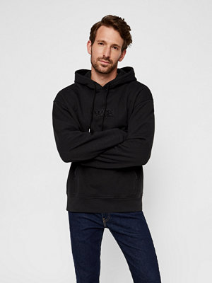 Street & luvtröjor - Levi's Relaxed Graphic Hood sweatshirt