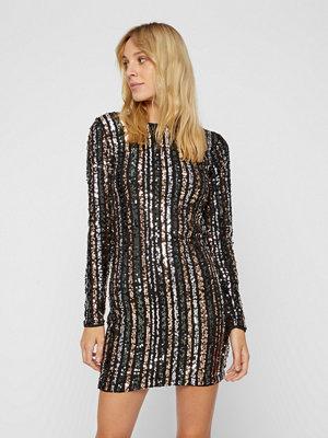 Vila Lange Beado Stripe klänning