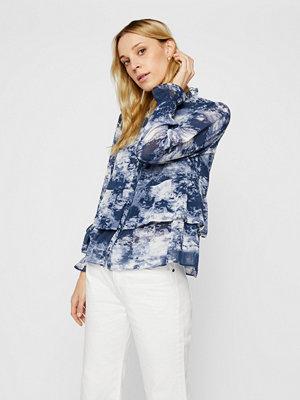Y.a.s Langærmet Cloudy skjorta