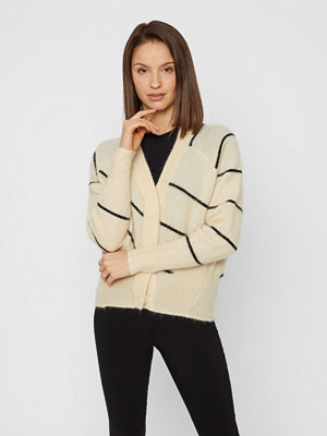 Cardigans - Second Female Knit Striped cardigan