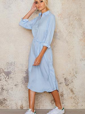 Ax Paris Long Sleeved Midi Shirt Dress