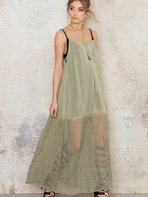 NA-KD Boho Lacing Maxi Dress