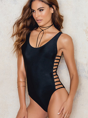 NA-KD Swimwear Caged Sides Swimsuit